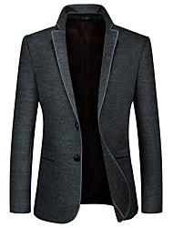 Men's Daily Work Vintage Fall Winter Blazer