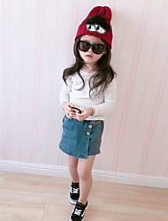 Girls' Hats & Caps Sweater Beige Red