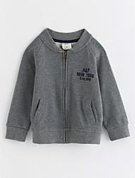 cheap -Boys' Jacket & Coat,Cotton Long Sleeves Gray