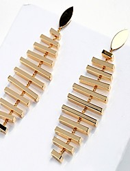 cheap -Women's Stud Earrings Drop Earrings Vintage Casual Lovely Fashion Korean Gold Plated Alloy Geometric Jewelry For Daily Work