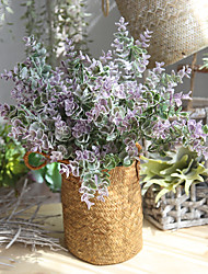 cheap -5 Branch Real touch Others Lavender Tabletop Flower Artificial Flowers