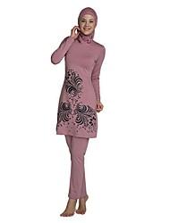 cheap -Women's Flower Tankini Swimwear Blushing Pink Wine Royal Blue