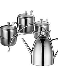 Недорогие -1set Кухня Нержавеющая сталь Хранение продуктов питания