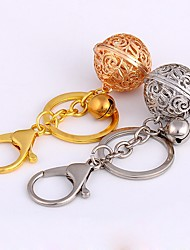 cheap -Keychain Jewelry Silver Golden Circle Ball Alloy Basic Gift Christmas Daily Men's Women's