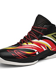 Pánské Obuv Koženka Jaro Podzim Pohodlné Atletické boty Basketbal Zvířecí potisk pro Sportovní Žlutá Černočervená Bílá/modrá