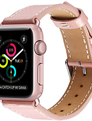 abordables -bracelet de montre pour Apple Watch série 3/2/1 Apple dragonne bracelet en cuir