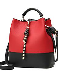 preiswerte -Damen Taschen PU Rucksack Tasche für Normal Büro & Karriere Ganzjährig Grün Schwarz Braun Rot