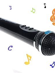 abordables -Instruments de jouet Microphone Jouets Nouveauté ABS 1 Pièces Enfant Cadeau