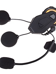 abordables -casco de moto t-max freedconn intercomunicador de auriculares bluetooth 8 jinetes 1500m intercomunicador de grupo bt interphone radio fm