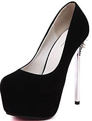 cheap -Women's Shoes Fur Fall / Winter Basic Pump Heels Black / Red / Party & Evening / Dress / Party & Evening