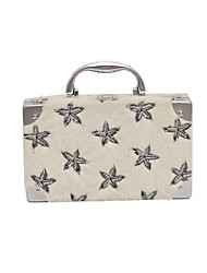 cheap -Women Bags Fur Tote Embroidery for Casual All Season White Black