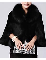 abordables -Manteau en Fourrure Femme,Couleur Pleine Soirée Quotidien simple Décontracté Hiver Manches Longues Mao Normal Autres