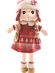 cheap -Stuffed Toys Doll Girl Doll Toys Novelty Cartoon People Cute Kids Girls Pieces