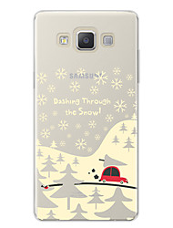 Case For Samsung Galaxy A7(2017) Pattern Back Cover Cartoon Christmas Soft TPU for A3(2017) A5(2017) A7(2017) A7(2016) A5(2016) A8