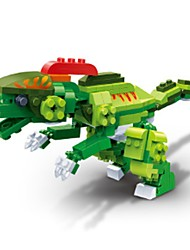 economico -Costruzioni Giocattoli Fai da te Istruzione Dinosauro Jurassico Dinosauro Animali 175 Pezzi Maschio Regalo
