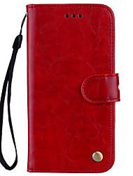 economico -Custodia Per Samsung Galaxy J5 (2017) J3 (2017) A portafoglio Porta-carte di credito Con supporto Con chiusura magnetica A calamita
