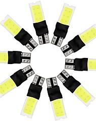 preiswerte -10 stücke t10 w5w 10 watt cob doppelseiten beleuchtung 100% auto modelle ausgestattet weiß