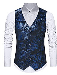 cheap -Men's Casual/Daily Casual Winter Fall Vest