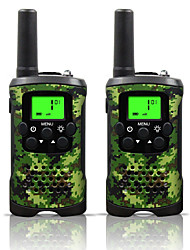cheap -Armygreen and Camo for Kids Walkie Talkies 22 Channels and (up to 10KM in open areas)  Armygreen  and Camo Walkie Talkies for Kids (1 Pair) T48