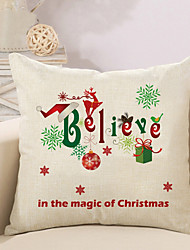 cheap -Christmas Animals Characters Gift Patterns Quare Linen Pillow