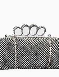 Damen Taschen Polyester Abendtasche für Veranstaltung / Fest Frühjahr, Herbst, Winter, Sommer Ganzjährig Gold Schwarz Silber