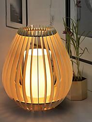 abordables -Rustique Artistique simple Traditionnel / Classique Style mini Protection des Yeux Lampe de Table Pour Bois / Bambou 220V