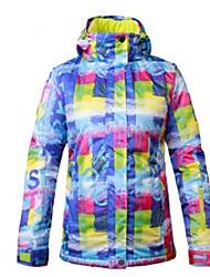 cheap -Women's Ski Jacket Warm, Ventilation, Windproof Ski / Snowboard / Multisport / Winter Sports Polyester, Mesh Down Jacket Ski Wear