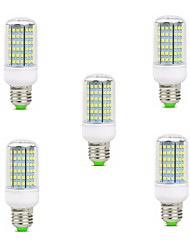 cheap -10W E14 B22 E26/E27 LED Corn Lights T 126 SMD 2835 900-1000 lm Warm White Cold White 2800-3200/6000-6500 K Decorative AC 220-240 V 5pcs