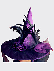 cheap -Halloween Witch Hat For Halloween Costume Accessory Hats Costume Party Props Stage Cosplay Suppllies