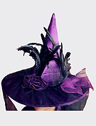 Недорогие -Хэллоуин ведьмы шляпу на Хэллоуин костюм аксессуар шляпы костюм партии реквизита этап косплей suppllies