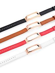 Недорогие -Ремешок для часов для Mi Band 2 Xiaomi Спортивный ремешок Натуральная кожа Повязка на запястье