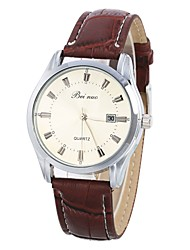 cheap -Women's Wrist Watch Chinese Calendar / date / day Leather Band Casual / Fashion / Elegant Brown