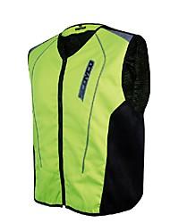 hommes moto gilet réfléchissant sécurité jecket protecteur gear pour motorsport