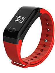 cheap -Smart Bracelet Touch Screen Calories Burned Mood Tracker Pedometer Fitness Tracker Activity Tracker Sleep Tracker Find My Device Alarm