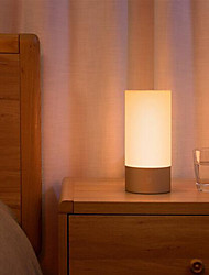 cheap -Xiaomi Yeelight New RGB Bedside Lamp Bluetooth Control WiFi Connection