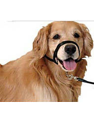 cheap -Dog Muzzles Trainer Portable Anti Bark Adjustable Flexible Easy to Use