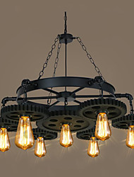 cheap -Retro/Vintage Pendant Light For Shops/Cafes AC 110-120 AC 220-240V Bulb Not Included