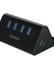 4 Ports USB Hub USB 3.0 Input Protection High Speed Data Hub