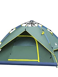 cheap -3-4 persons Tent Screen Tent Camping Shelter Beach Tent Canopy Tent Double Camping Tent One Room Automatic Tent Mountaineering for