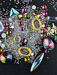 cheap -Nail Jewelry Rhinestone Fashion High Quality Daily Nail Art Design