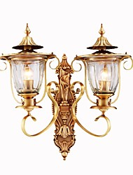 cheap -Mini Style Retro/Vintage Country Wall Sconces For Living Room Bedroom Metal Wall Light IP20 220-240V 110-120V 5W