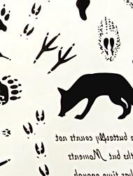 abordables -modèle de renard tatouage temporaire 6097