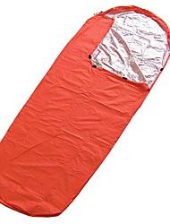 preiswerte -Rettungsdecke Rechteckiger Schlafsack 26°C wärmespeichernde Wärmeisoliert 210X83 Reisen Camping & Wandern Einzelbett(150 x 200 cm)
