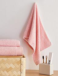 cheap -Fresh Style Bath Towel Set, Solid Superior Quality Pure Cotton Plain 100% Cotton Towel