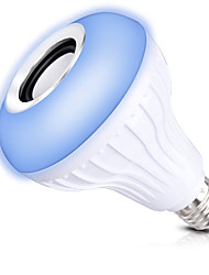 preiswerte -1set 12W E27 Smart LED Glühlampen A80 1 Leds COB Bluetooth Abblendbar Ferngesteuert Dekorativ RGB 1000lm 2700-9000