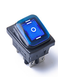 cheap -On-Off-On 6 Pin 12V Car Boat LED Light Rocker Toggle Switch Latching