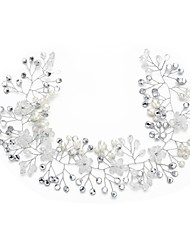 cheap -Crystal Imitation Pearl Rhinestone Headbands 1pc Headpiece