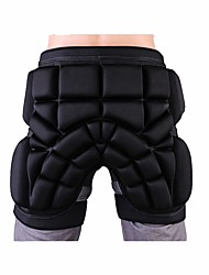 Ski & Snowboarding Protection Shorts for Adults' Stretchy Protection Ski Protective Gear Ski / Snowboard Skating Roller Skating High