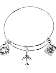 cheap -Women's Charm Bracelet Bracelet , Rock Gothic Alloy Airplane Jewelry Club Street