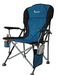 Недорогие -Складное туристическое кресло На открытом воздухе Складной Легированной стали для 1 человек Походы - Зеленый, Черный